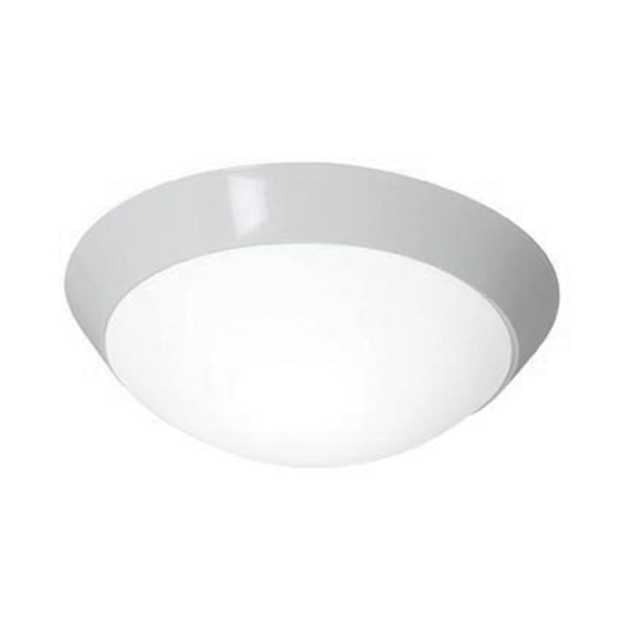 Access Lighting Cobalt 15-in W White Ceiling Flush Mount Light