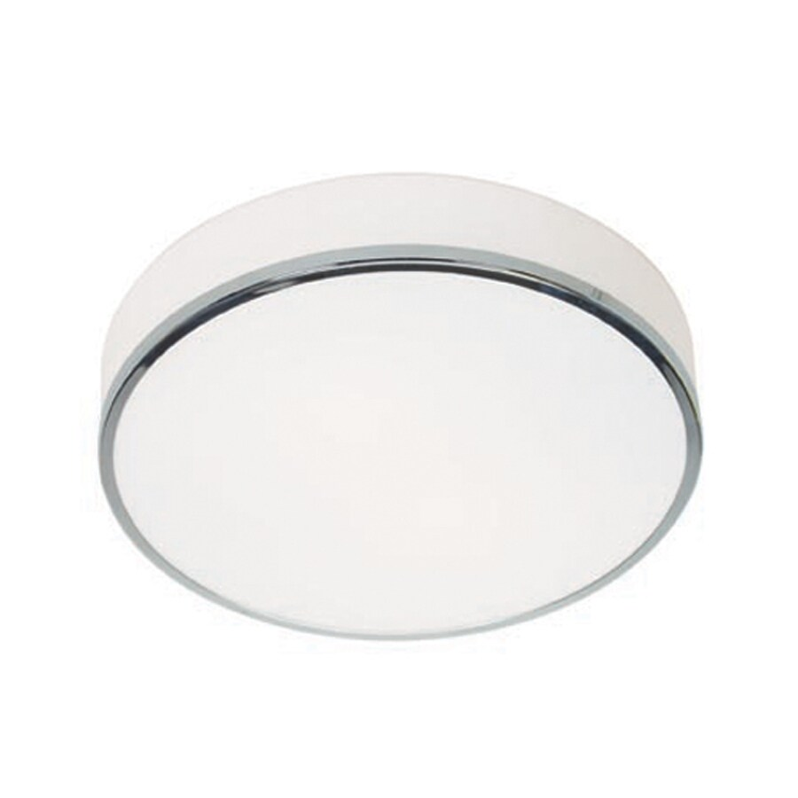 Access Lighting Aero 12.5-in W Chrome Flush Mount Light