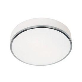 amax lighting 2625 access lighting aero 12 5 in w chrome flush
