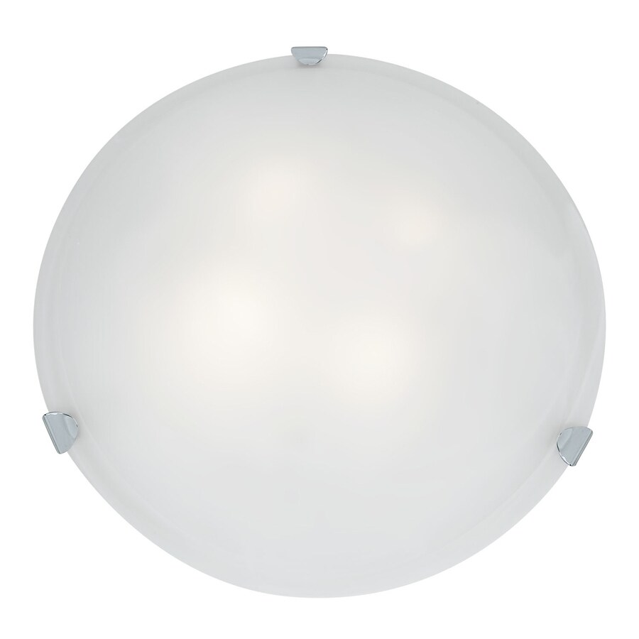 Access Lighting Mona 20-in W Chrome Flush Mount Light