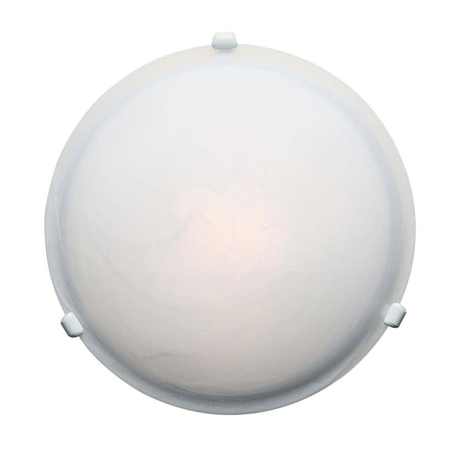 Access Lighting Nimbus 12.5-in W White Flush Mount Light