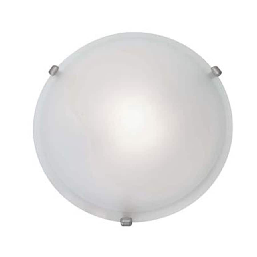 Access Lighting Nimbus 16-in W Satin Flush Mount Light