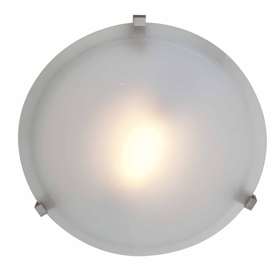 Access Lighting Cirrus 16-in W Satin Ceiling Flush Mount Light