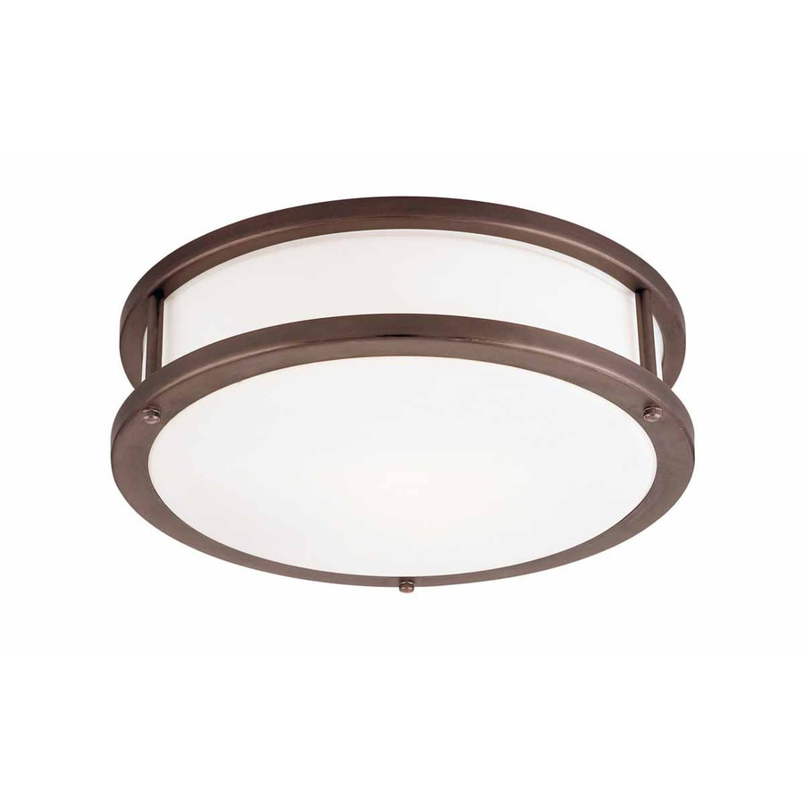 Access Lighting Conga 19-in W Bronze Ceiling Flush Mount Light