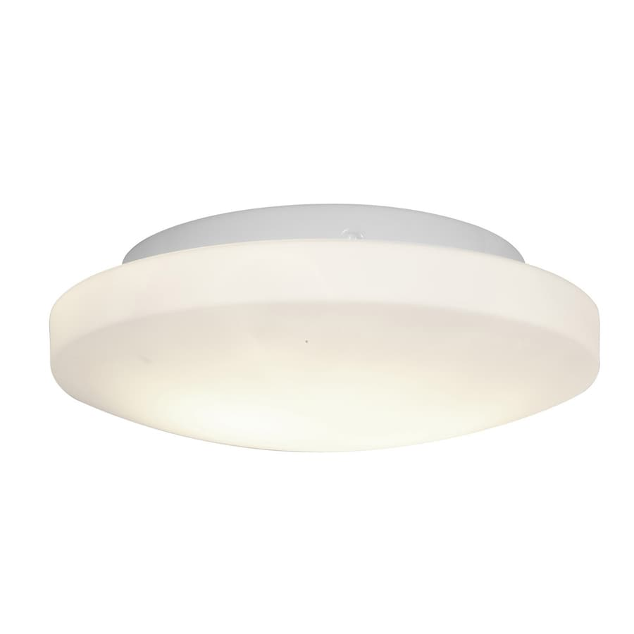 Access Lighting Orion 10.75-in W White Ceiling Flush Mount Light