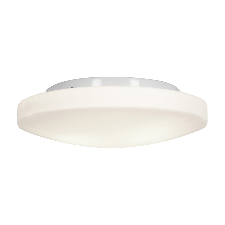 Access Lighting Orion 13.25-in W White Flush Mount Light