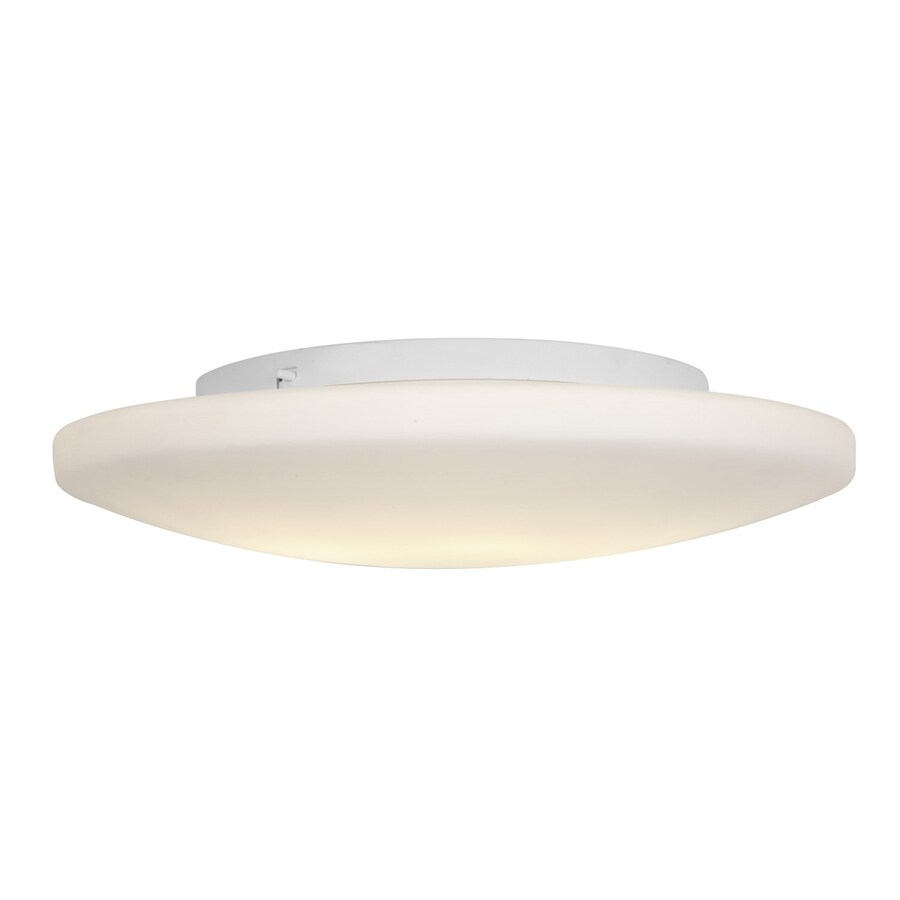 Access Lighting Orion 19-in W White Ceiling Flush Mount Light