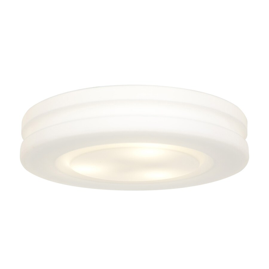 Access Lighting Altum 19.5-in W White Ceiling Flush Mount Light