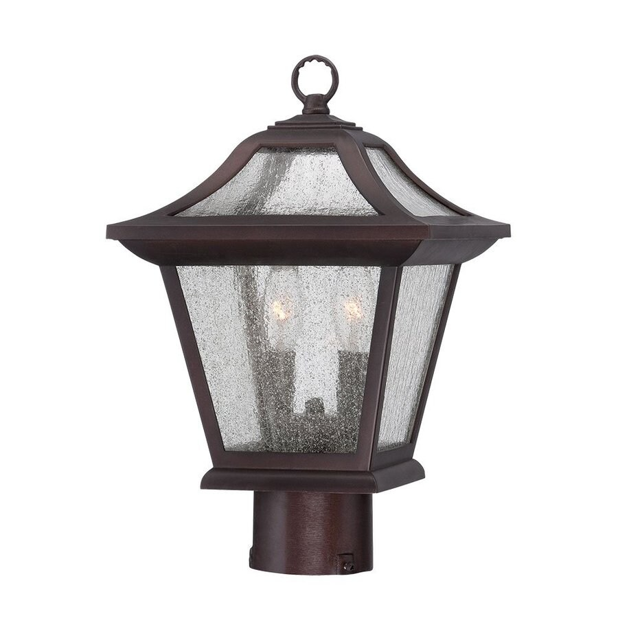 Acclaim Lighting Aiken 15-in H Architectural Bronze Post Light