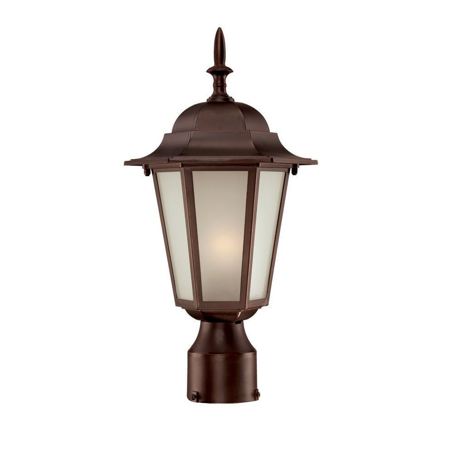 Acclaim Lighting Camelot 15.25-in H Architectural Bronze Post Light