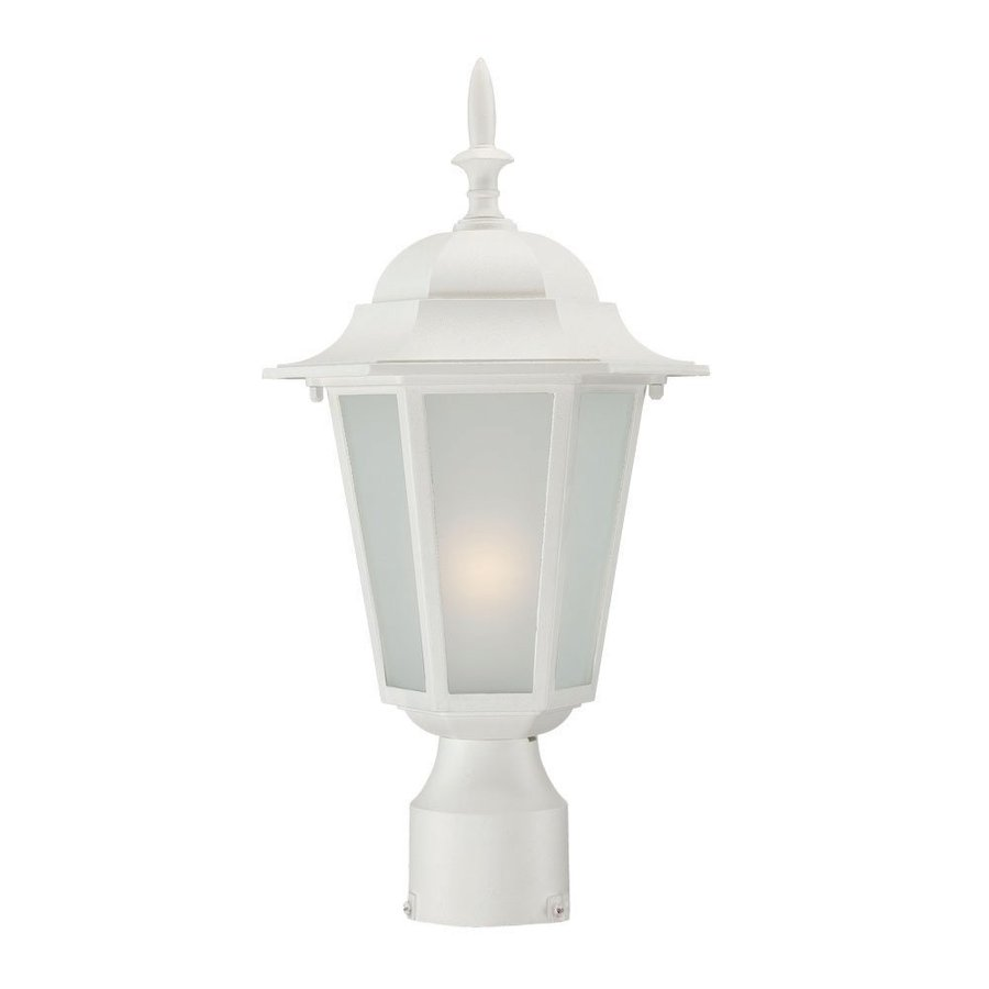 Acclaim Lighting Camelot 15.25-in H Textured White Post Light