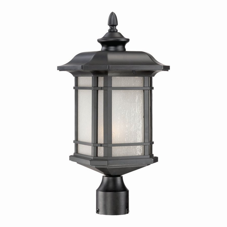 Acclaim Lighting Somerset 19.5-in H Matte Black Post Light