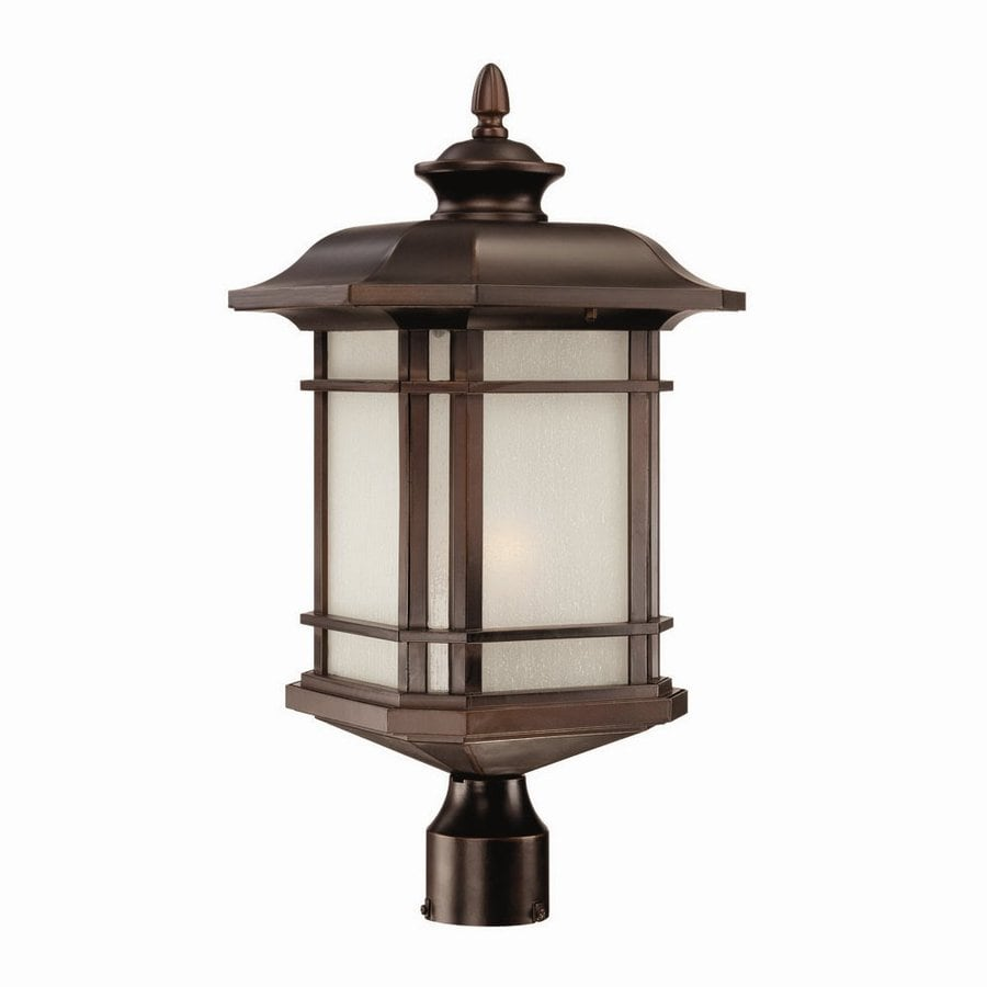 Acclaim Lighting Somerset 22.5-in H Architectural Bronze Post Light