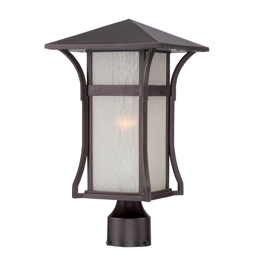 Acclaim Lighting Tahiti 15.375-in H Architectural Bronze Post Light