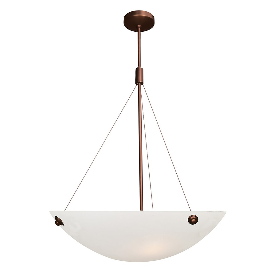 Access Lighting Noya 24-in Bronze Single Bowl Pendant
