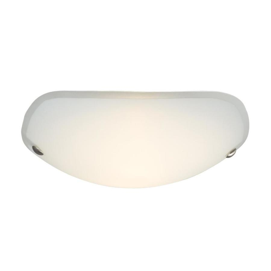 Galaxy 16-in W Brushed Nickel Flush Mount Light