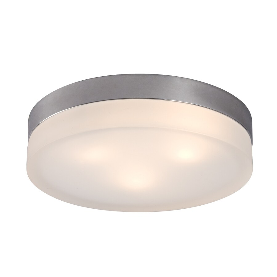 Galaxy 11-in W Chrome Flush Mount Light