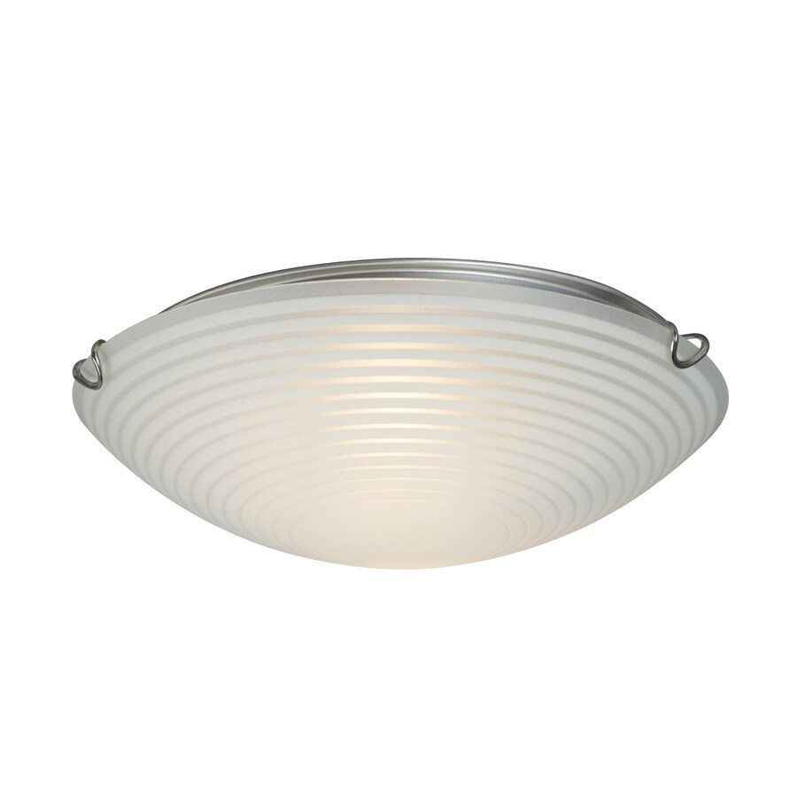 Galaxy 12-in W Chrome Ceiling Flush Mount Light