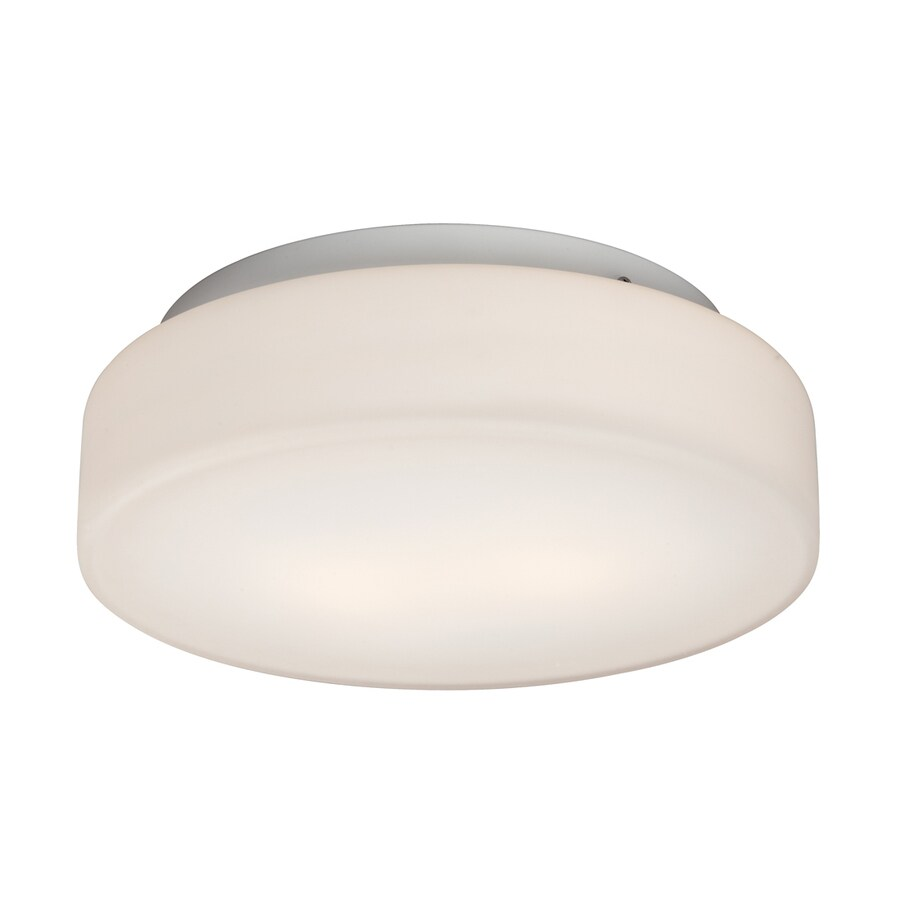 Galaxy 11.625-in W White Ceiling Flush Mount Light
