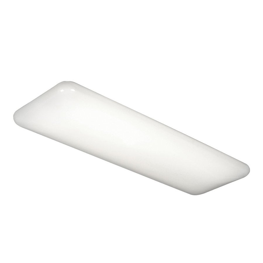 Galaxy White 51.25-in Flush Mount Fluorescent Light ENERGY STAR