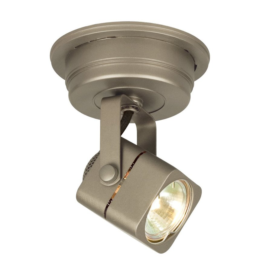 Galaxy Apollo 4.75-in Pewter Flush Mount Fixed Track Light Kit