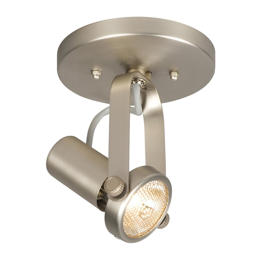 Galaxy 5.5-in Pewter Flush Mount Fixed Track Light Kit