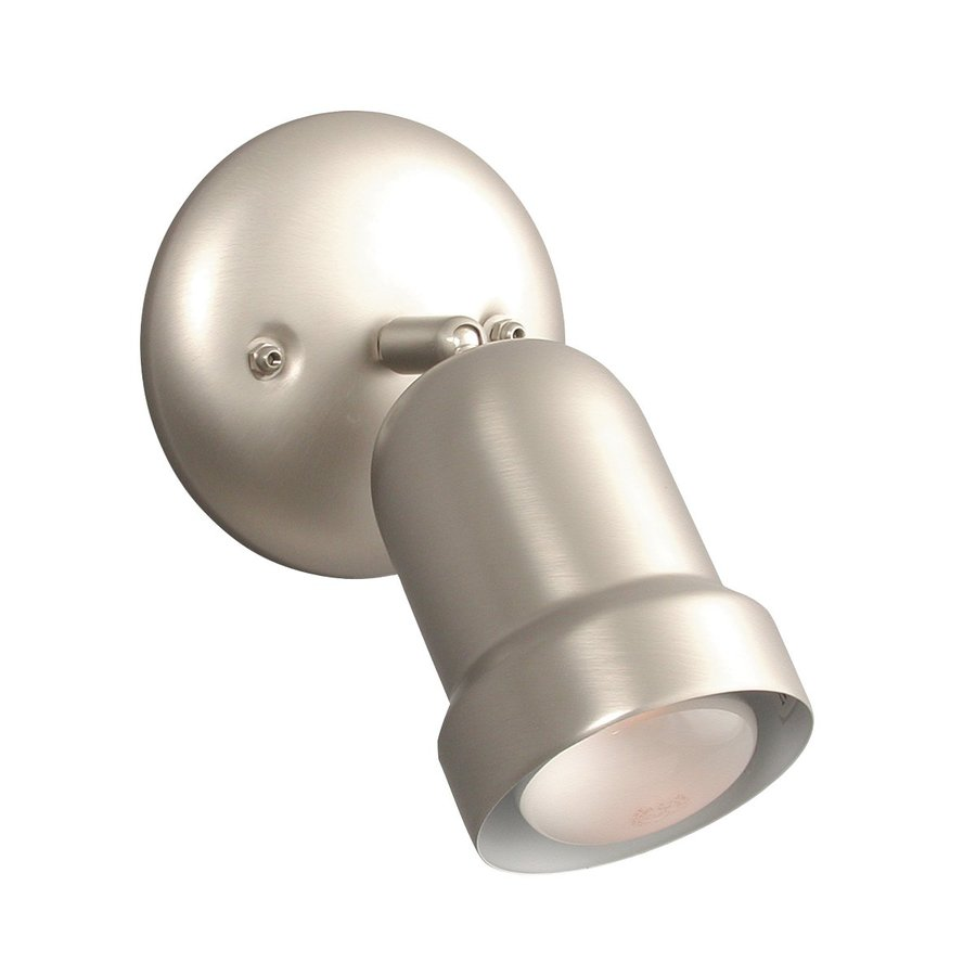 Galaxy 5-in Pewter Flush Mount Fixed Track Light Kit