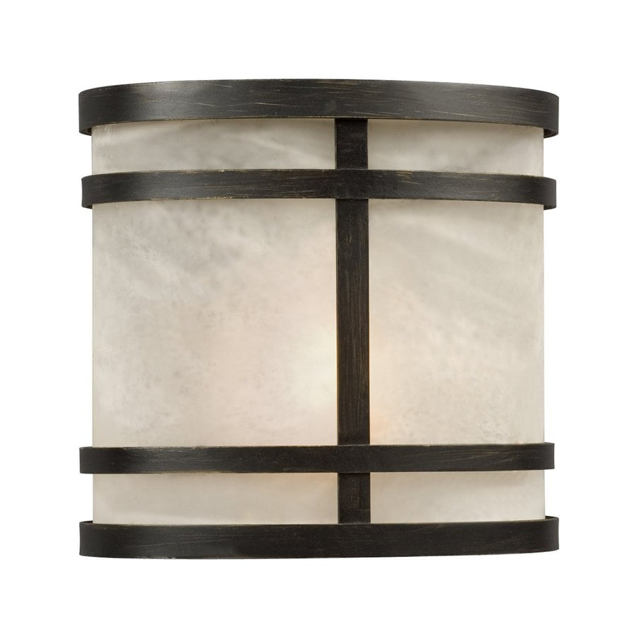 Galaxy 7.5-in H Oil Rubbed Bronze Outdoor Wall Light