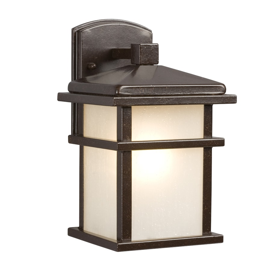 Galaxy 10.5-in H Bronze Outdoor Wall Light