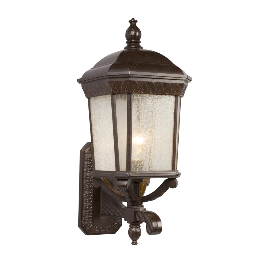 Galaxy 21.25-in H Bronze Outdoor Wall Light