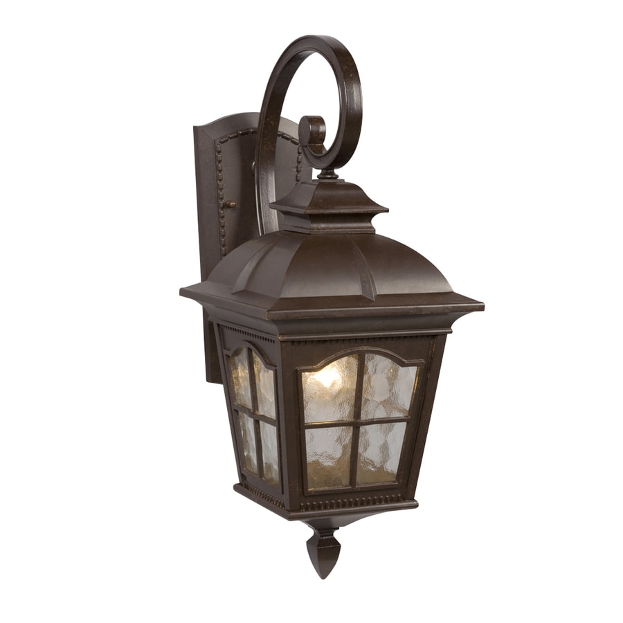 Galaxy 21.37-in H Bronze Outdoor Wall Light