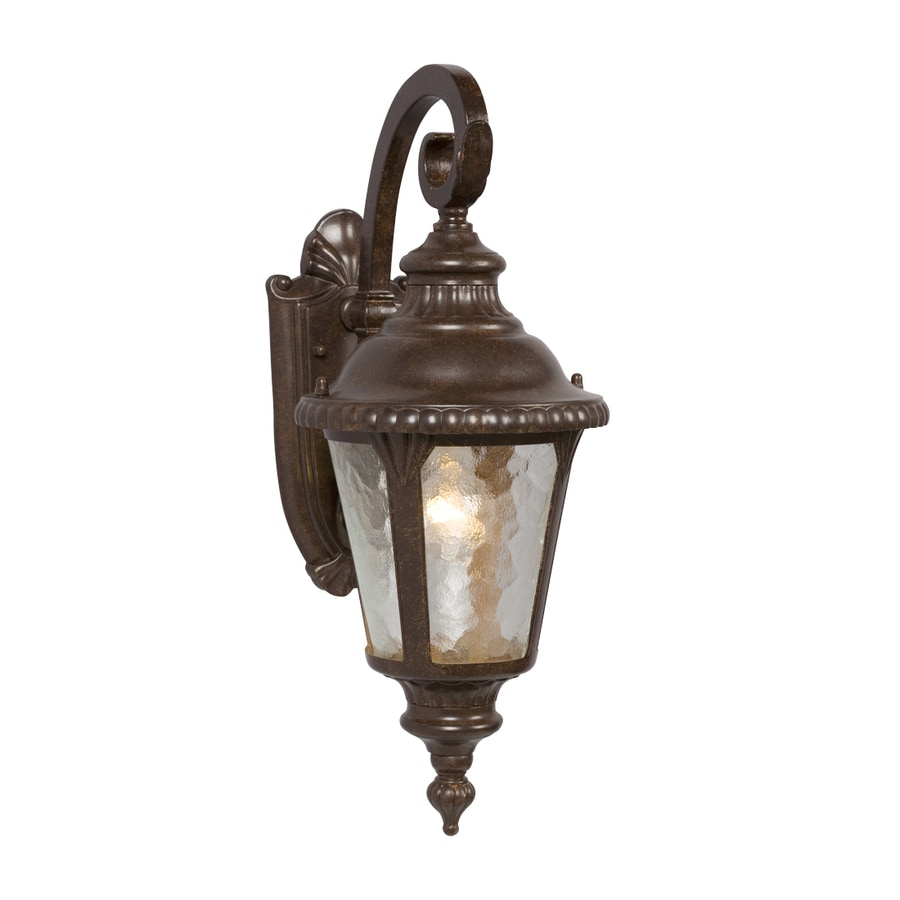 Galaxy 19.25-in H Bronze  Medium Base (E-26) Outdoor Wall Light