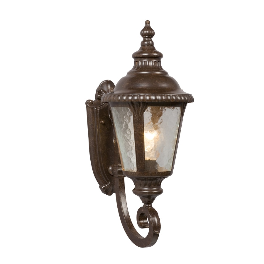 Galaxy 19.5-in H Bronze Outdoor Wall Light