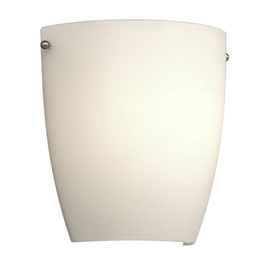 Galaxy 9.5-in W 1-Light Brushed Nickel Pocket Wall Sconce