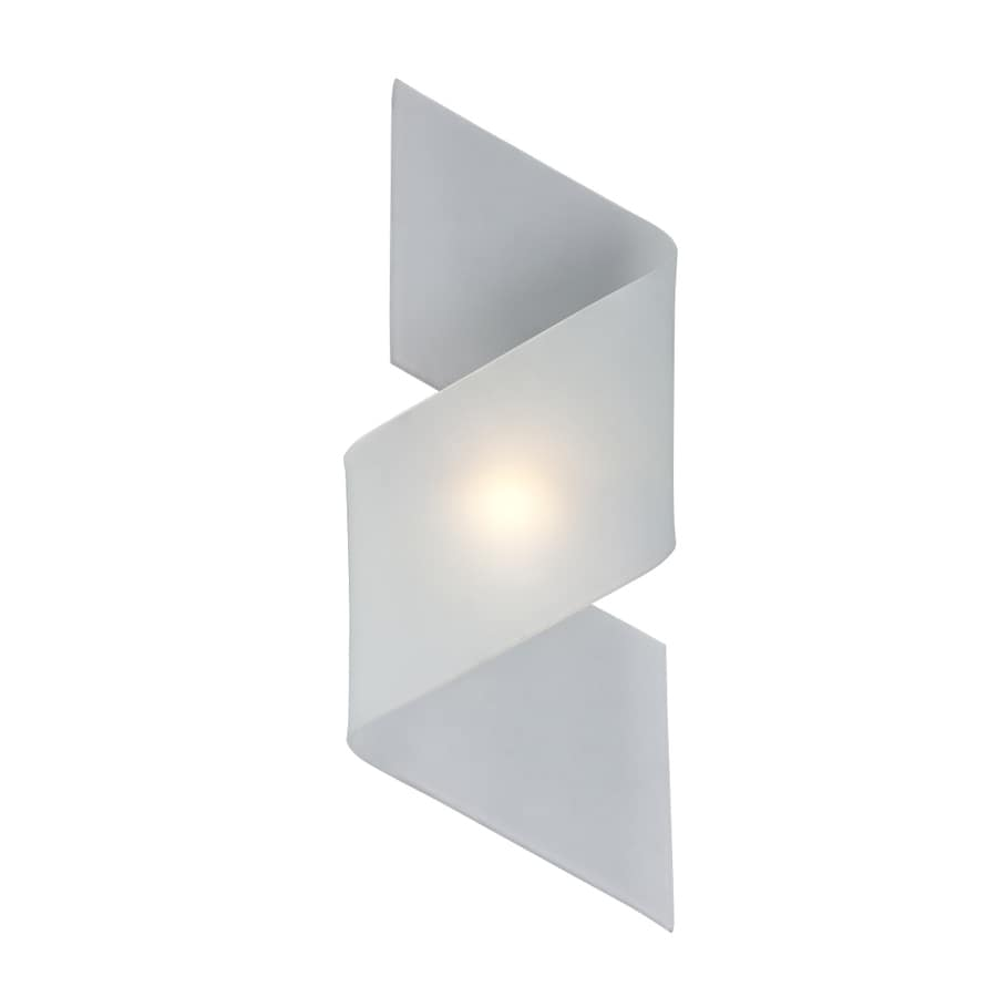 Galaxy 8.375-in W 1-Light Polished Chrome Pocket Wall Sconce