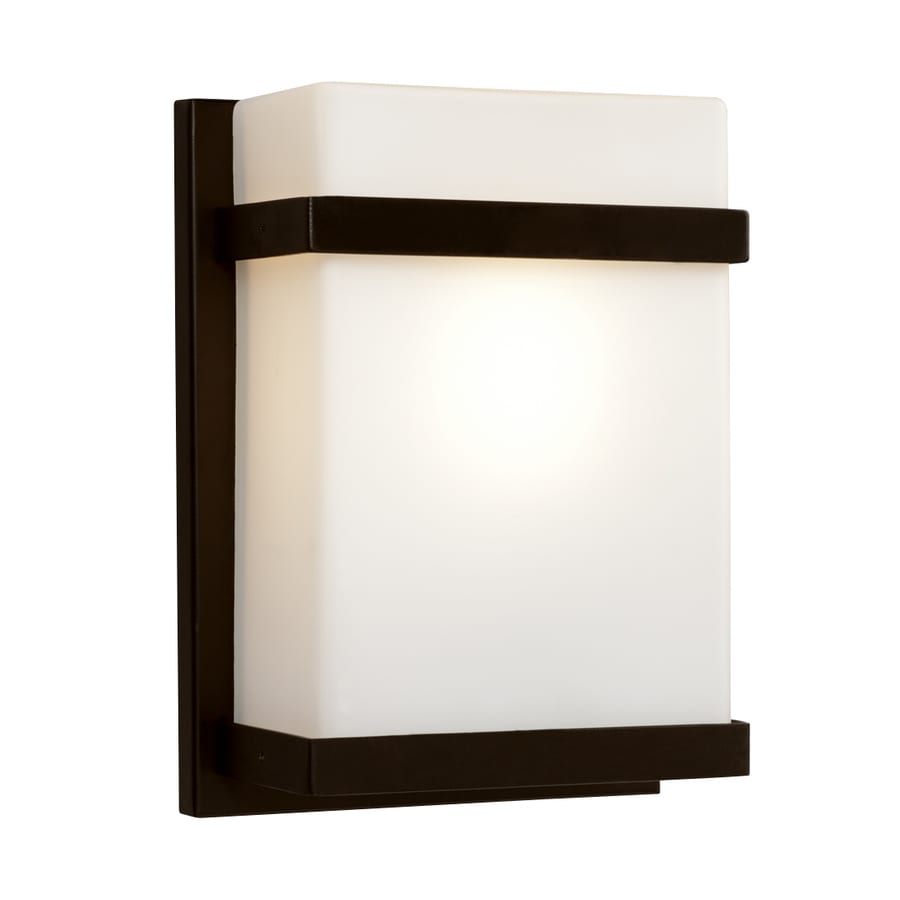Galaxy 7.5-in W 1-Light Bronze Pocket Wall Sconce