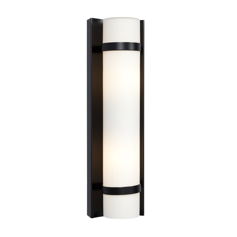Galaxy 4.25-in W 1-Light Black Pocket Wall Sconce
