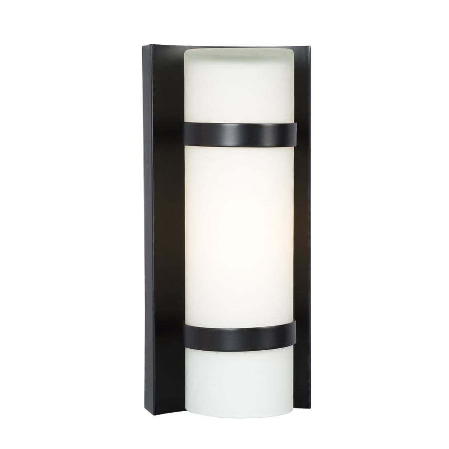 Galaxy 4.37-in W 1-Light Bronze Pocket Wall Sconce