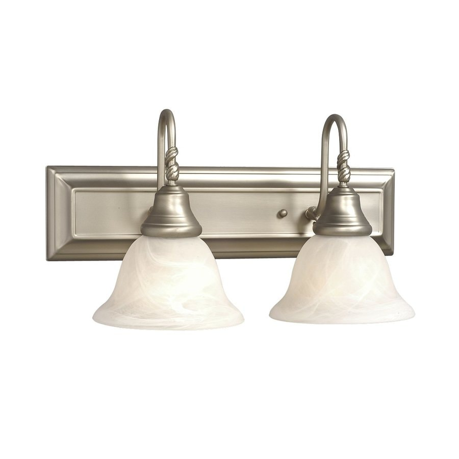 Galaxy Adelaide 2-Light 9.125-in Pewter Bell Vanity Light