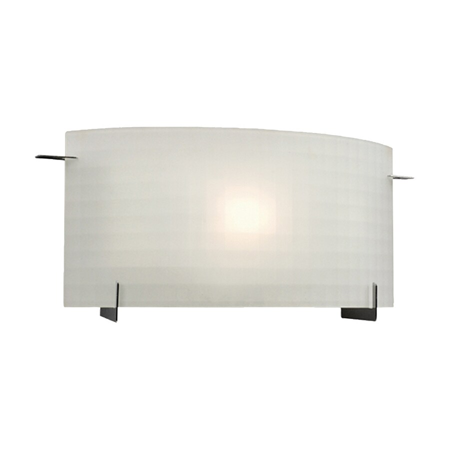 Galaxy Omni 1-Light 8-in Pewter Rectangle Vanity Light Bar