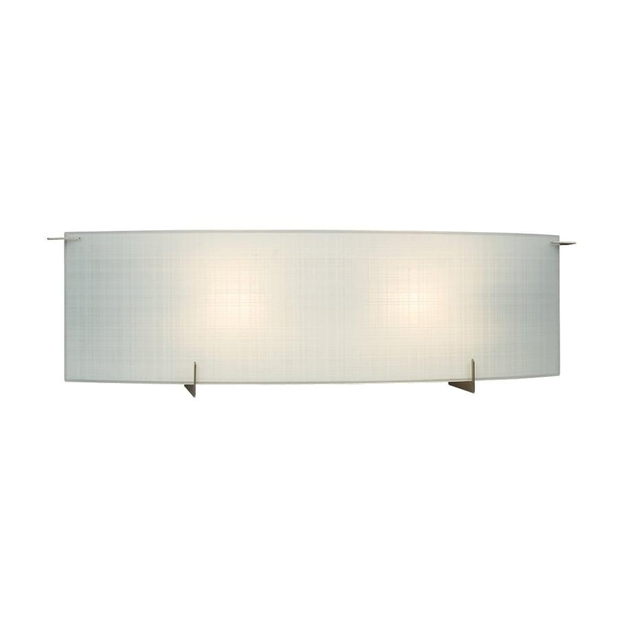 Galaxy Omni 1-Light 6.75-in Pewter Rectangle Vanity Light Bar