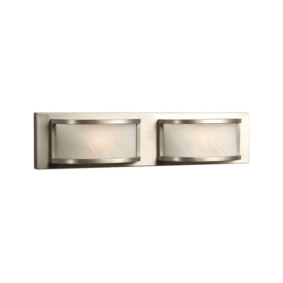 Galaxy Maya 2-Light 4.625-in Pewter Rectangle Vanity Light