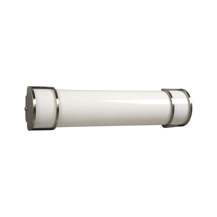Galaxy 1-Light Brushed Nickel Vanity Light