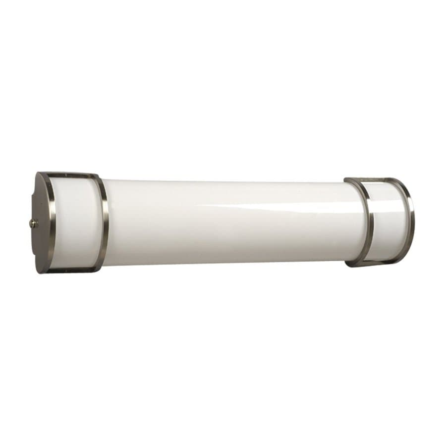 Galaxy 1-Light 6-in Brushed Nickel Cylinder Vanity Light Bar
