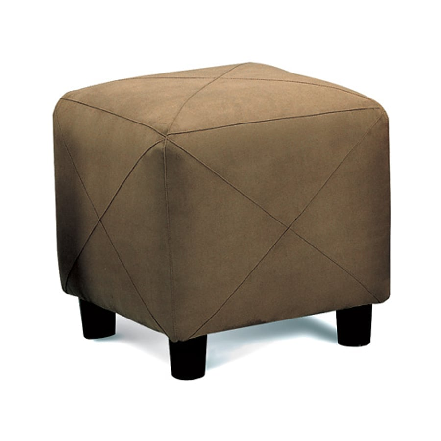 Coaster Fine Furniture Mocha Microfiber Ottoman