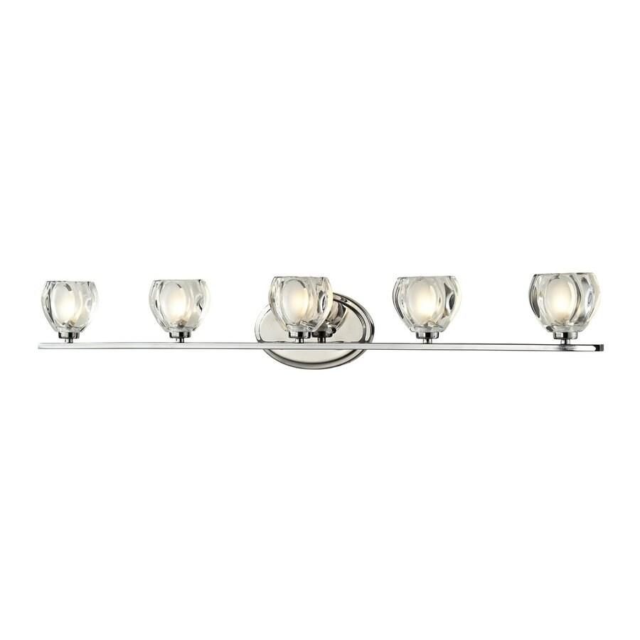 Z-Lite Hale 5-Light Chrome Bowl Vanity Light