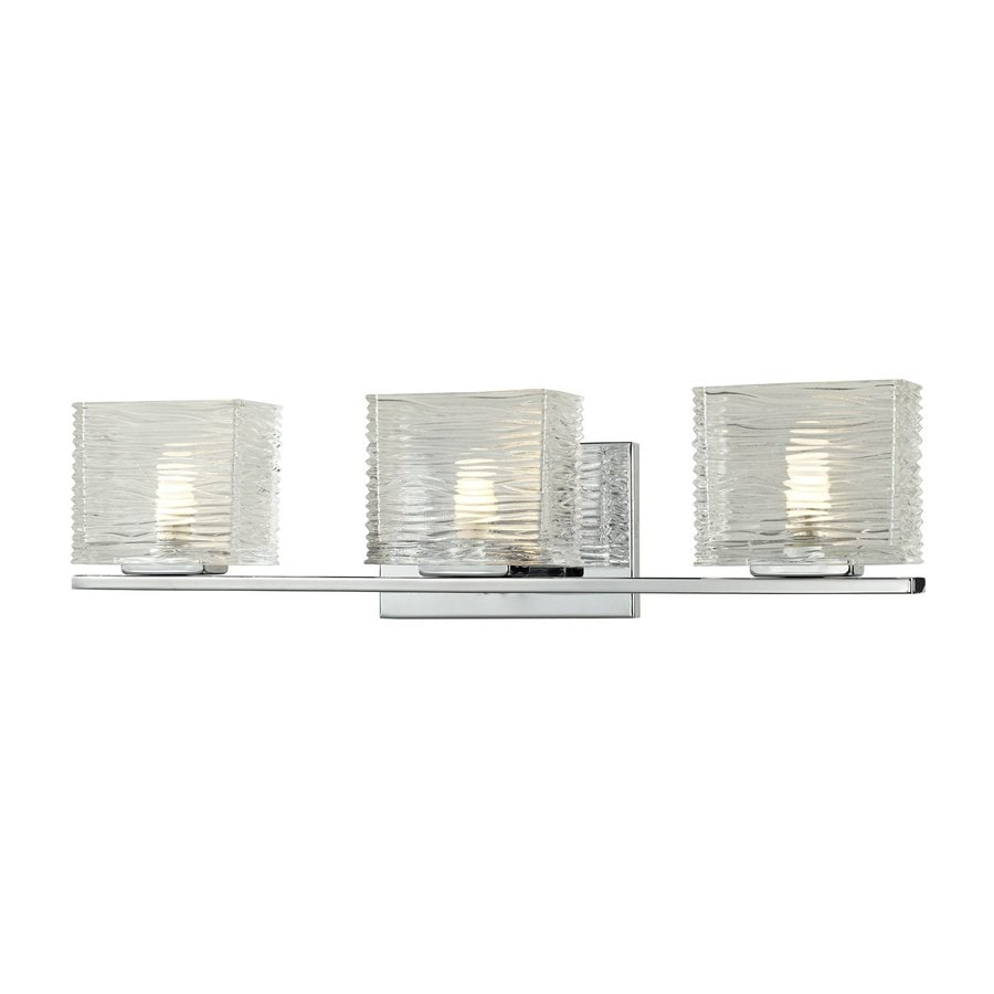 Z-Lite Jaol 3-Light Chrome Rectangle Vanity Light