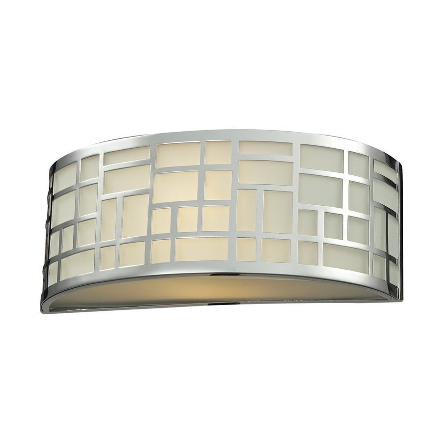 Z-Lite Elea 12-in W 1-Light Chrome Pocket Wall Sconce