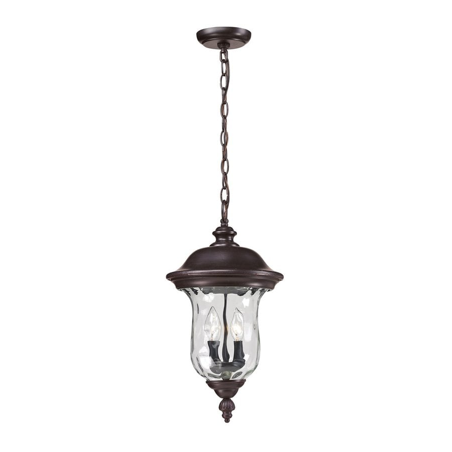 Z-Lite Armstrong 18.81-in Bronze Outdoor Pendant Light