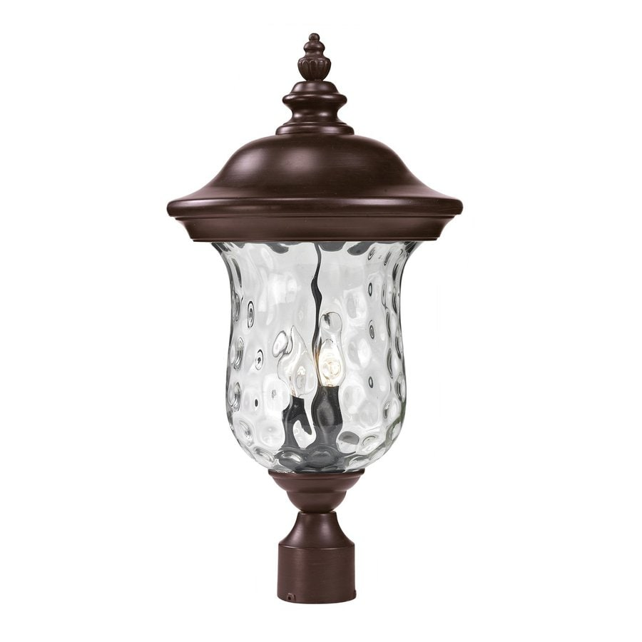 Z-Lite Armstrong 21.25-in H Bronze Post Light